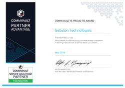 Gabsten-Technologies-Foundation-Level-Award