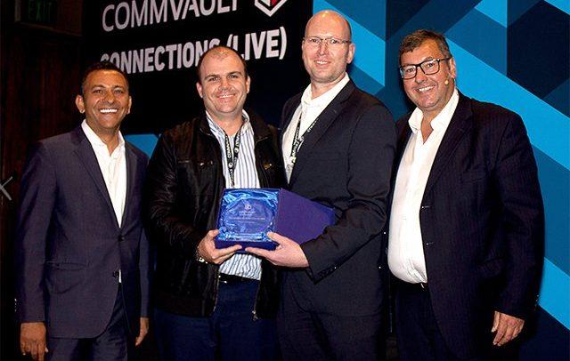 Gabsten receives Commvault Services Partner Award