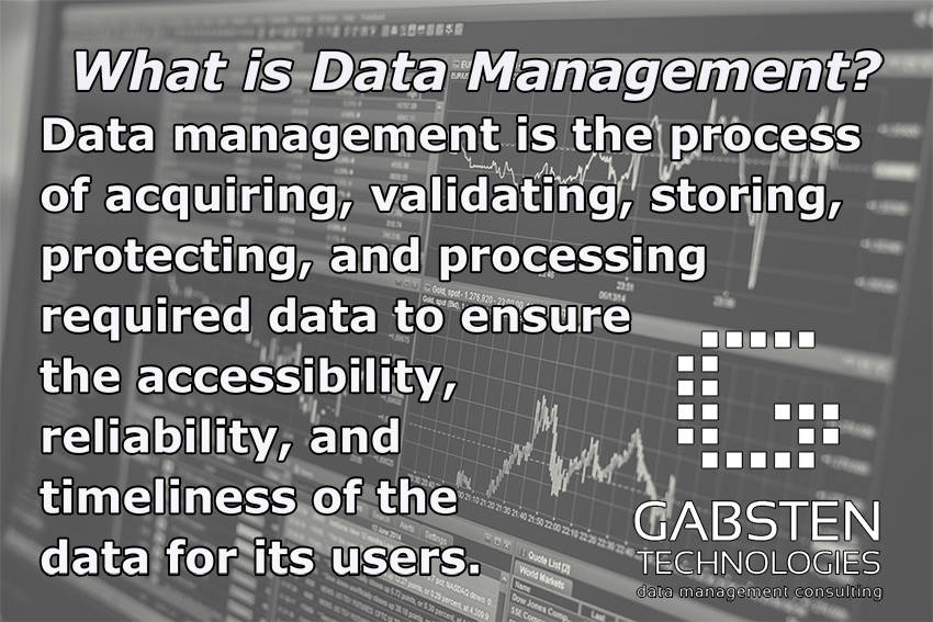 Data Management Advice