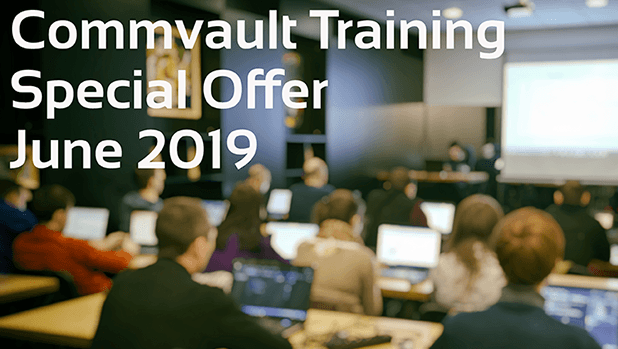 Commvault Training Special Offer