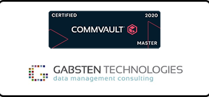 Gabsten Technologies welcomes another Commvault Certified Master into the fold